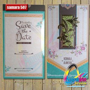 Blangko Undangan Samara 507