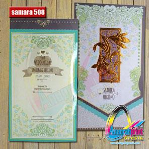 Blangko Undangan Samara 508