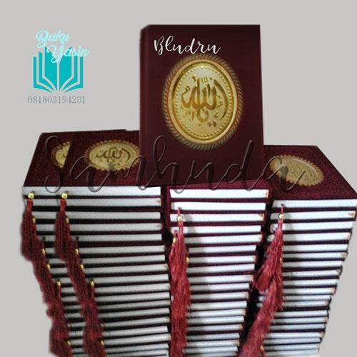Buku Yasin Hardcover Bludru HVS